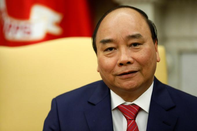 Cuộc hội đàm đầu tiên giữa Thủ tướng Nguyễn Xuân Phúc và Tổng thống Mỹ Donald Trump 4