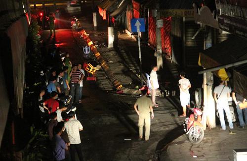 Nhóm người sát hại bé trai 13 tuổi ở Sài gòn bị camera ghi hình 1