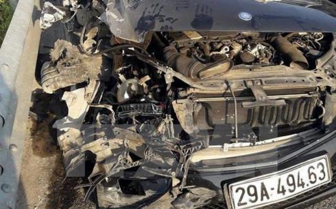 Khởi tố lái xe gây tai nạn trên cao tốc Hà Nội-Hải Phòng 1