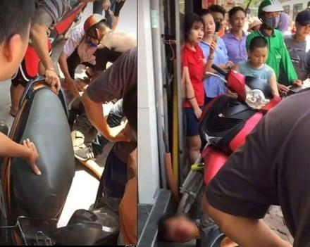 Hình ảnh Hà Nội: Nam thanh niên cầm dao đâm hàng loạt người giữa phố số 1