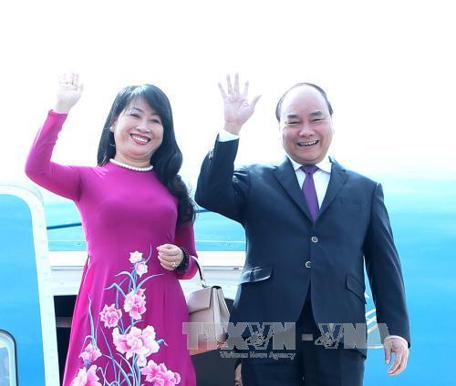 Thủ tướng Nguyễn Xuân Phúc và phu nhân bắt đầu chuyến thăm Nhật Bản 1