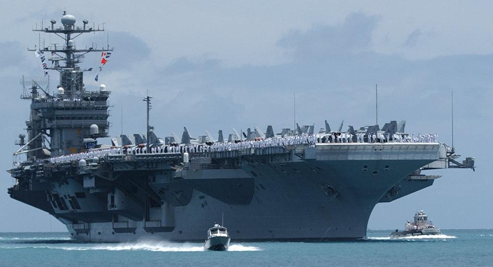 Mỹ tuần tra Biển Đông, Trung Quốc