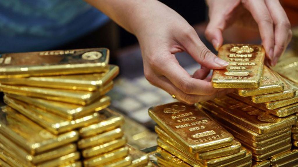 Hình ảnh Giá vàng hôm nay 5/6/2017: Bất ngờ giảm sâu sau khi đạt đỉnh số 1