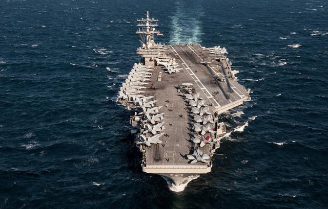 Kim Jong-un ra lệnh sẵn sàng tấn công tàu sân bay 1