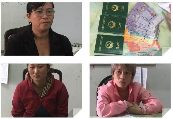 Bắt khẩn 3 đối tượng đưa hàng chục cô gái sang Malaysia bán dâm 1
