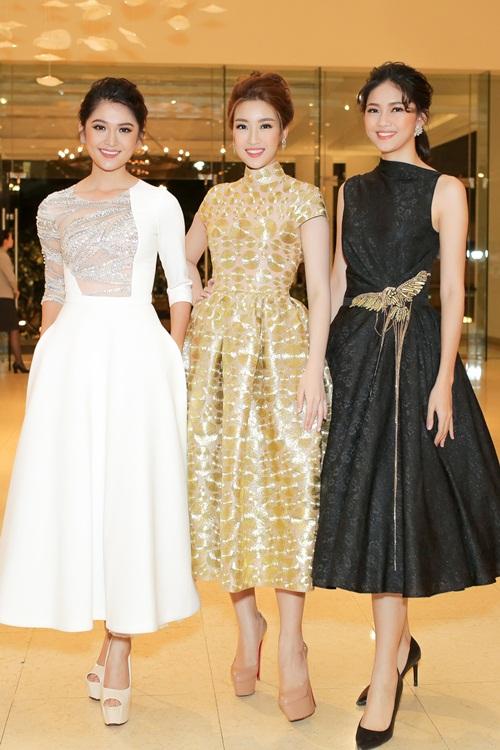 Top 3 Hoa hậu Việt Nam đọ sắc trên sàn diễn thời trang 8