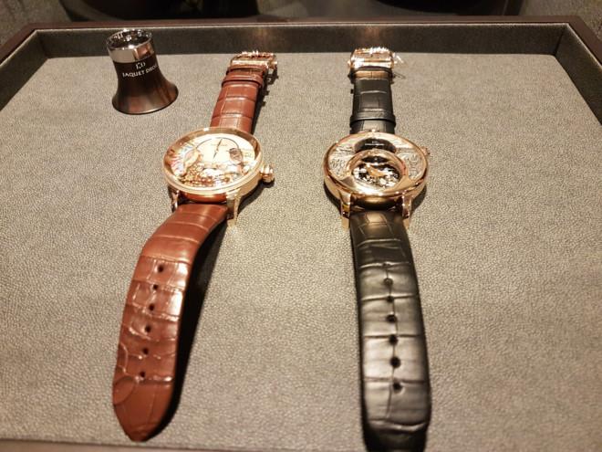 Cận cảnh 2 chiếc đồng hồ tổ chim giá 24 tỷ đồng ở Hà Nội 2
