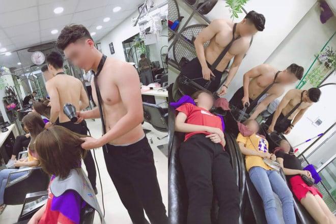 Dàn trai đẹp cắt tóc, gội đầu 6 múi ở Hà Nội lên báo nước ngoài 1