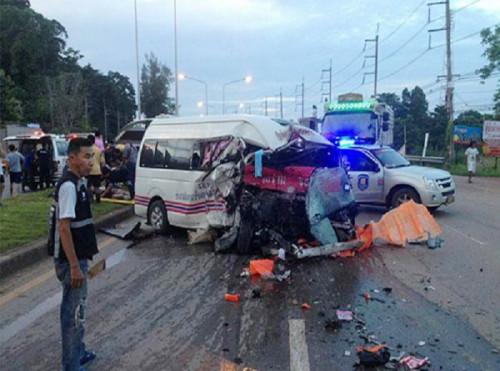 Tai nạn giao thông thảm khốc ở Thái Lan, 2 người Việt tử vong 1