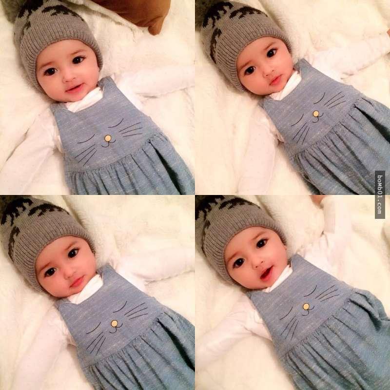 Hình ảnh Em bé đẹp nhất thế giới khiến nhiều người ngỡ ngàng sau 3 tháng số 2