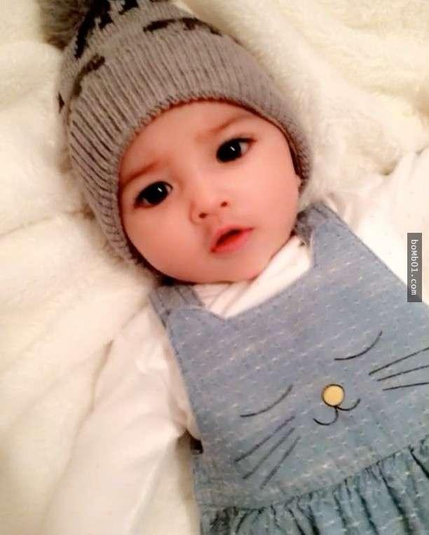 Hình ảnh Em bé đẹp nhất thế giới khiến nhiều người ngỡ ngàng sau 3 tháng số 6