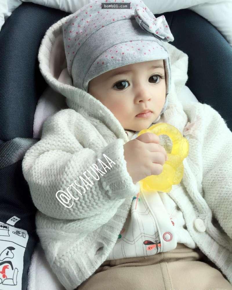 Hình ảnh Em bé đẹp nhất thế giới khiến nhiều người ngỡ ngàng sau 3 tháng số 7