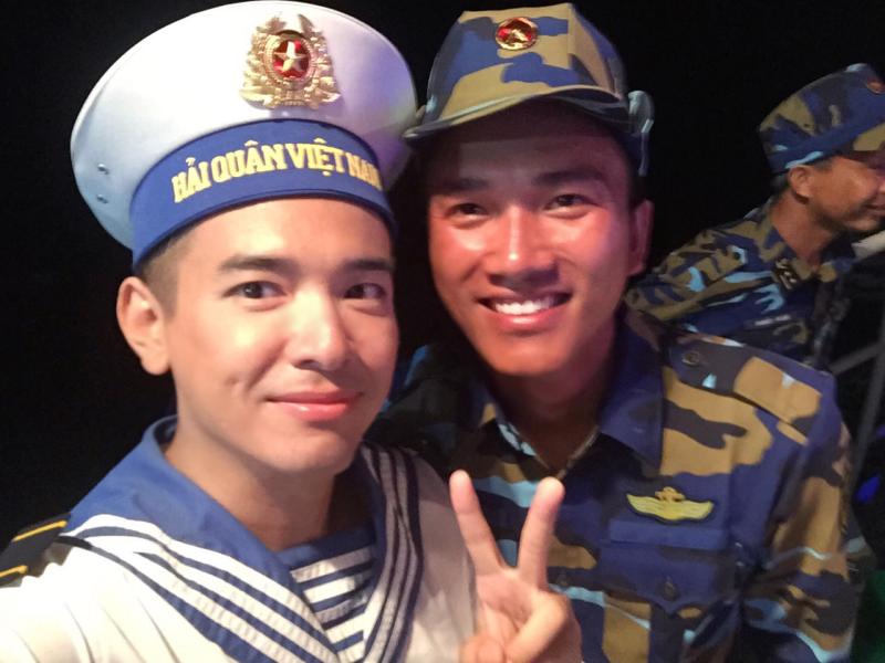 Hình ảnh Việt Quang xúc động khi giấc mơ về Trường Sa thành hiện thực số 6