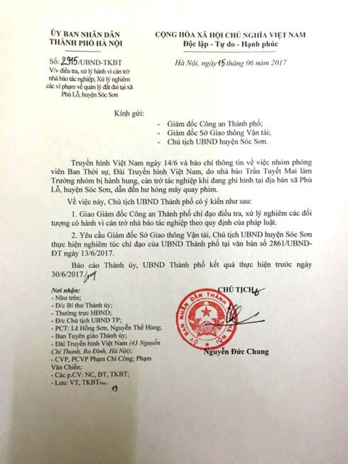 Chủ tịch Nguyễn Đức Chung yêu cầu làm rõ vụ nhóm PV VTV bị hành hung 1