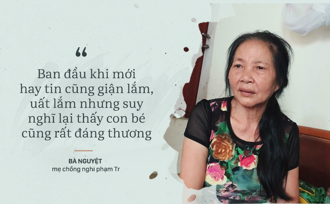 Mẹ chồng nghi phạm sát hại con 33 ngày tuổi: