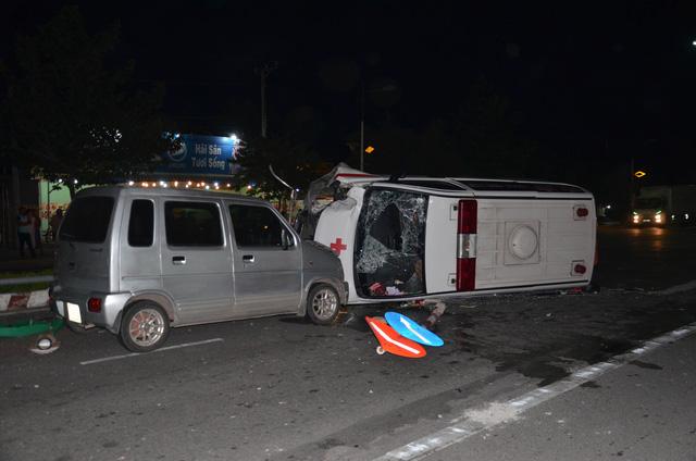 Xe cấp cứu gây tai nạn, người đi bộ tử vong tại chỗ 1