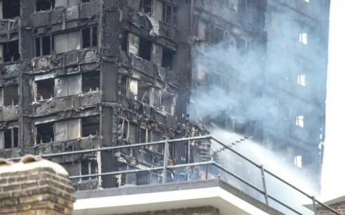 Cháy tháp chung cư London: Con trai cõng mẹ chạy từ tầng 24 xuống đất 3