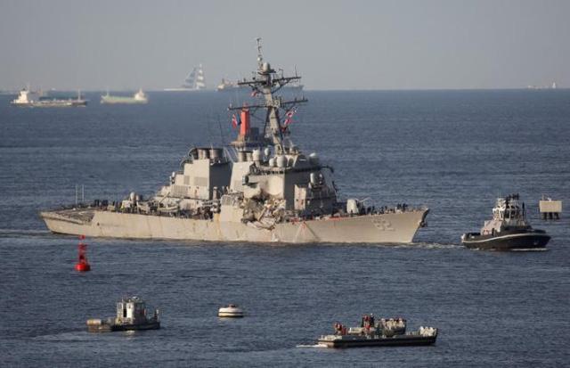 Mỹ ráo riết tìm 7 thủy thủ mất tích sau vụ tàu chiến đâm tàu hàng Philippines 4