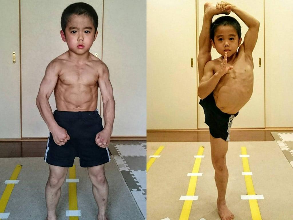 Hình ảnh Thân hình cơ bắp nhờ tập võ của