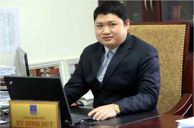 Khởi tố, bắt tạm giam nguyên TGĐ PVtex Vũ Đình Duy 1