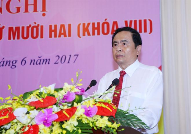 Ông Trần Thanh Mẫn thay ông Nguyễn Thiện Nhân làm Chủ tịch MTTQ Việt Nam 1
