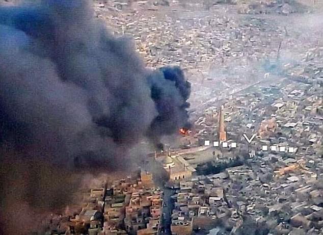 IS thừa nhận sụp đổ khi cho nổ tung nơi khai sinh đế chế? 1