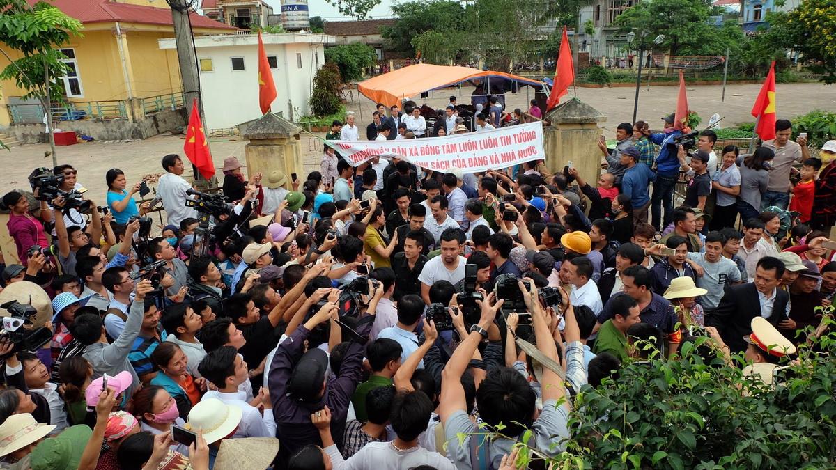 Hà Nội kết thúc việc thanh tra đất đai tại xã Đồng Tâm 1