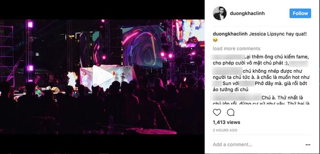 Giải trí - Dương Khắc Linh bất ngờ đăng đàn chê Jessica hát nhép