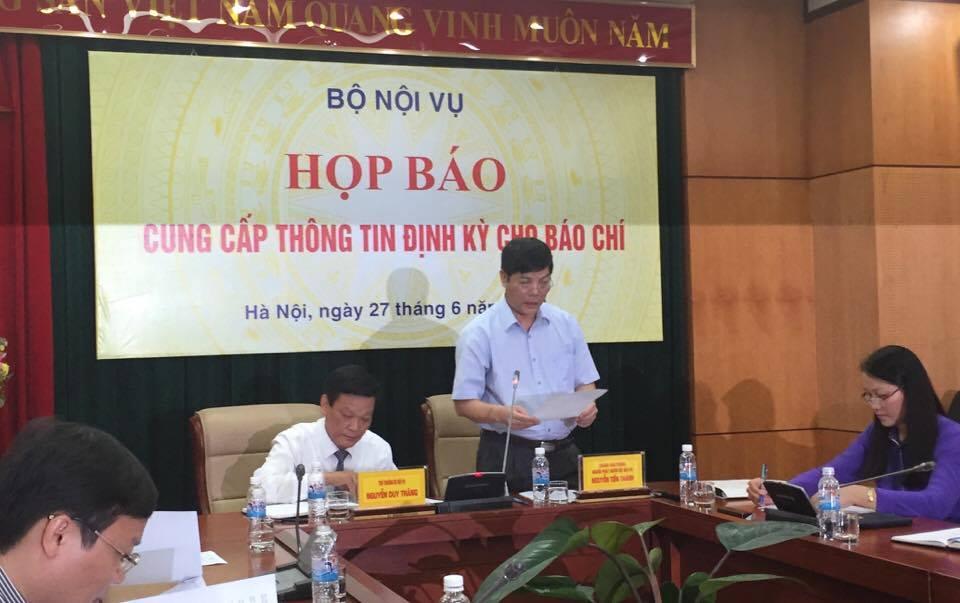Vụ bổ nhiệm em trai Bí thư Yên Bái: Bộ Nội vụ thông báo kết luận 1