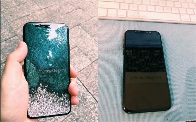 Hình ảnh Xuất hiện iPhone 8 trên tay người dùng: đẹp lung linh như concept số 1