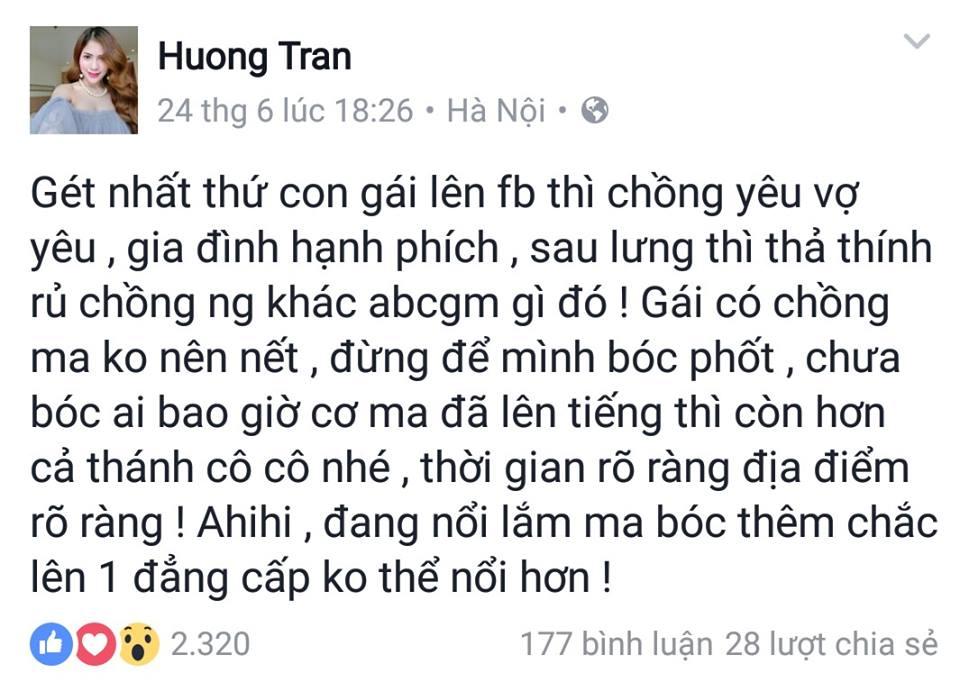 Vợ Việt Anh chỉ đích danh Bảo Thanh là người nhắn tin