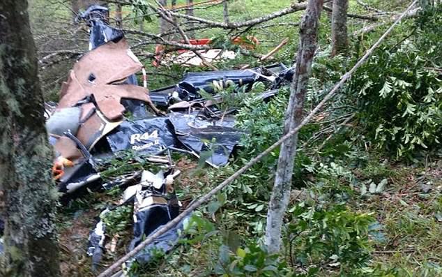 Hình ảnh Rơi máy bay khiến cô dâu qua đời trên đường đến đám cưới số 3