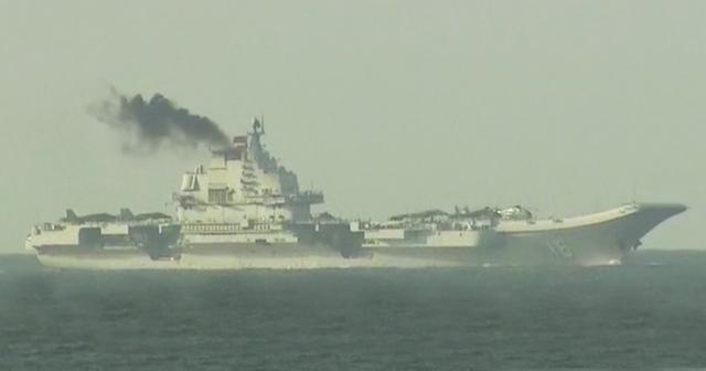 Tàu sân bay Trung Quốc nhả khói đen mù mịt, gây lo ngại lớn 1
