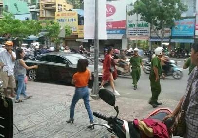Bị cảnh sát giao thông