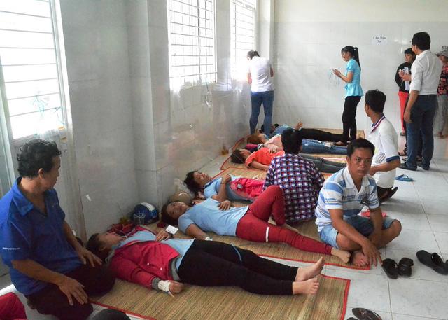 Nguyên nhân 571 công nhân tại An Giang nhập viện sau bữa ăn trưa 1