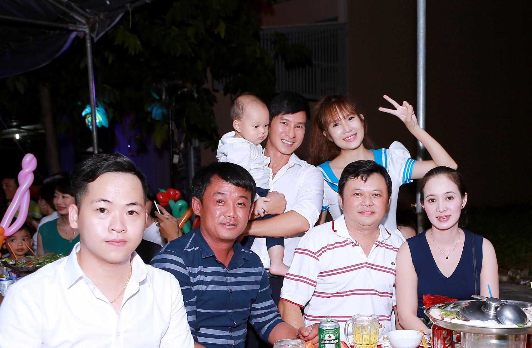 Hình ảnh Vợ chồng Lý Hải tổ chức sinh nhật rình rang cho con thứ tư số 13