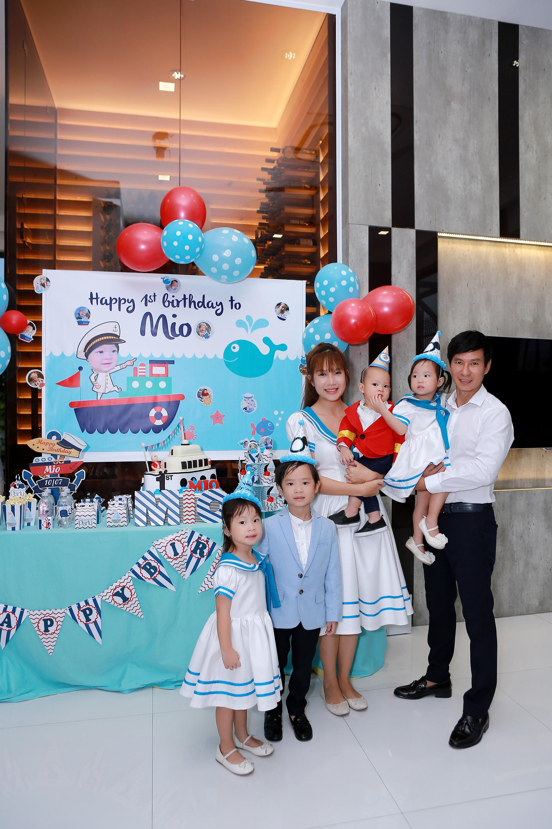Hình ảnh Vợ chồng Lý Hải tổ chức sinh nhật rình rang cho con thứ tư số 3