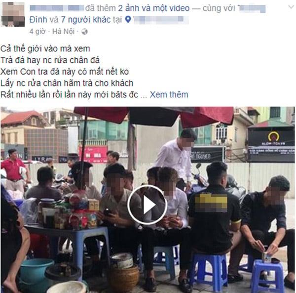Người dàn dựng clip cô gái rửa chân trong xô đựng nước pha trà lên tiếng giải thích 3
