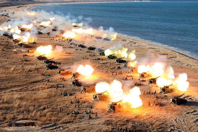 Triều Tiên tuyên bố căn cứ Mỹ ở Hàn Quốc đang nằm trong tầm tấn công 1