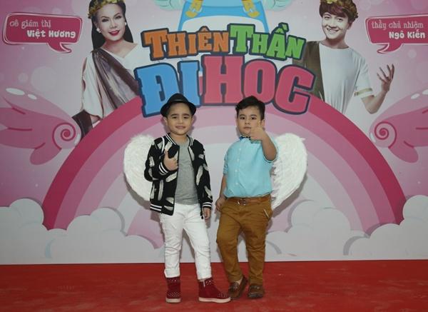 """Việt Hương – Ngô Kiến Huy """"gõ đầu trẻ"""" trong gameshow mới 4"""
