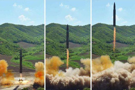 Tên lửa Triều Tiên có thể tấn công New York bất cứ lúc nào 1