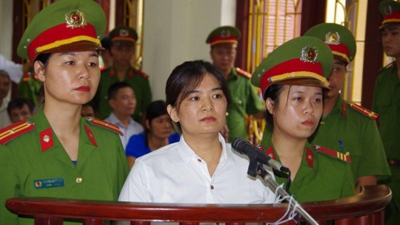 Nữ nhân tuyên truyền chống Nhà nước lĩnh án 9 năm tù 1