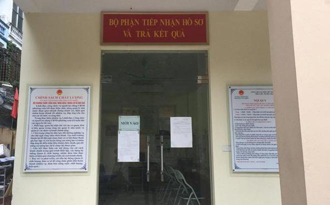 Chủ tịch phường Văn Miếu lên tiếng về việc camera hôm xảy ra vụ xin giấy khai tử bị hỏng 1