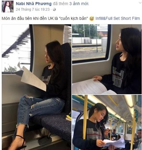 Thất tình, Nhã Phương đột ngột rời Việt Nam đi du học ở Anh? 3