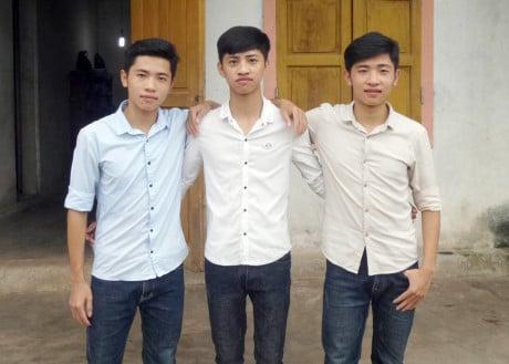 Hình ảnh Chuyện xưa nay hiếm, anh em sinh 3 cùng đậu vào một trường quân sự số 1