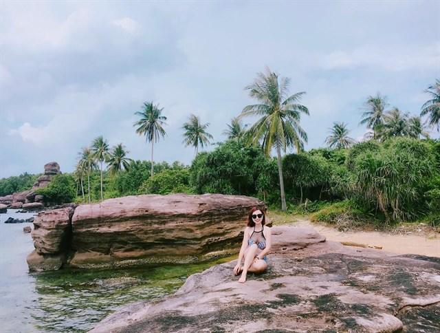 """Hình ảnh Giới trẻ cuồng chân với """"hoang đảo Robinson"""" tuyệt đẹp ở Kiên Giang số 3"""