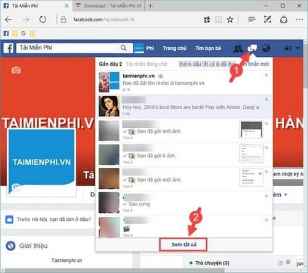 Mẹo phục hồi tin nhắn Facebook đã xóa vô cùng đơn giản 4