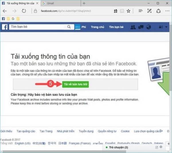 Mẹo phục hồi tin nhắn Facebook đã xóa vô cùng đơn giản 2