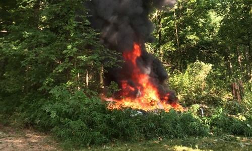 Lao xe, rơi trực thăng tại bang Virginia 2