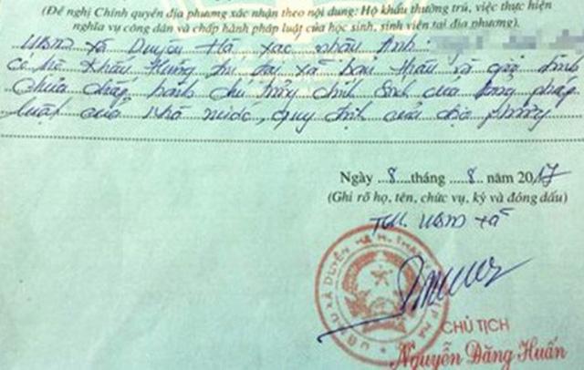 Hà Nội: Kỷ luật khiển trách cán bộ 'bút phê' lý lịch tân sinh viên 1